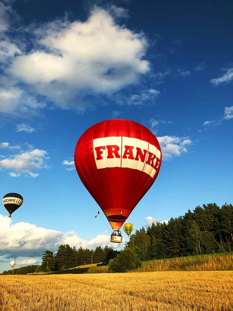 Karšto oro balionas FRANKE, LY-FKE